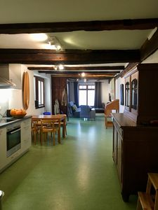 Photo for Living in the refurbished monument right in the heart of the historic old town.