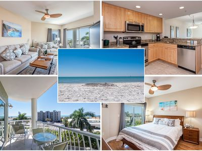 Photo for Ocean View Condo White Sandy Beach Turquoise Water