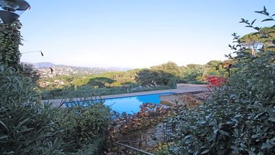 Photo for House 4 people - Swimming pool residence - Air conditioning - Wifi - Sainte Maxime