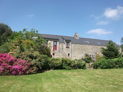 Photo for Gite Maézoù, cozy T2, ground floor in farmhouse, countryside & 13km sea