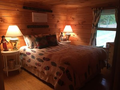 Photo for Luxury Log Cabin 5 minutes to Mt. Sunapee
