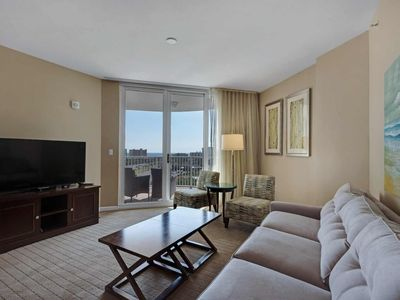 Photo for STUNNING Gulf Views From This 9th Floor Unit.  Free Fun Pass.Must be 25 to sign agreement