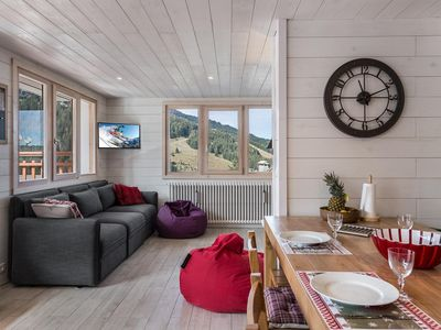 Photo for RE003B: Renovated apartment and mountain decorated