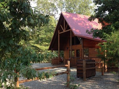 Photo for Arborlawn Cabin - Luxury Cabin Lodging - Perfect for Family Fun Vacations