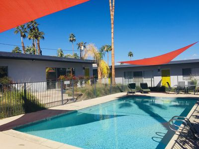 Photo for PALM DESERT ABOVE THE PASEO,  POOL, 2BR/2BA, MID CENTURY