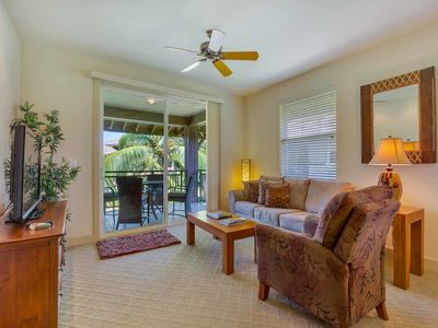 Photo for Tropical Class! Modern Villa w/Kitchen, Lanai, Laundry, AC, WiFi+TVs–Hali`i Kai Waikoloa 24D