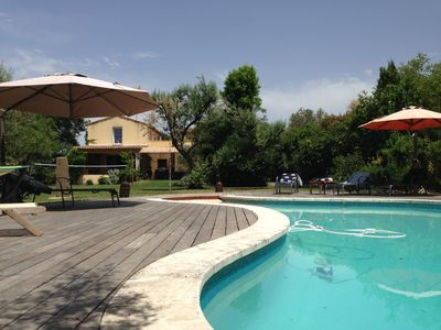 Photo for Villa of 200 m² on 3000 m² landscaped, 8 rooms, 4 bedrooms, pool