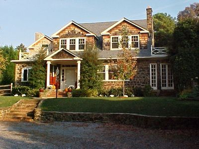 Beautiful sandstone and cedar shingle home in downtown Annapolis