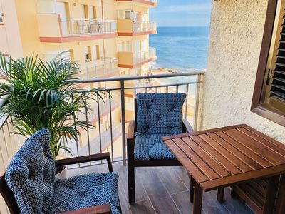 Photo for Apartment with sea Views, TV Channels, WIFI, High-End
