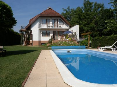 Photo for Holiday apartment with garden and pool