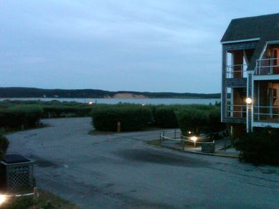 View from the deck - Fort Pond Bay