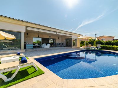Photo for Marratxi Holiday Home, Sleeps 8 with Pool, Air Con and Free WiFi