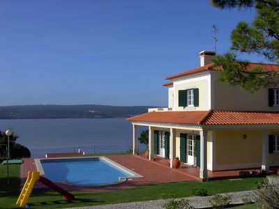 Photo for Villa with private pool and views of Obidos Lagoon