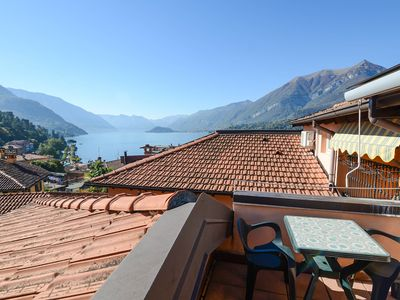 Photo for Bianca apartment in Bellagio with WiFi, air conditioning & balcony.