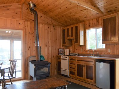 Photo for Fall Colors!  Cozy Cabin w/Lakefront & Dock-Pets Allowed