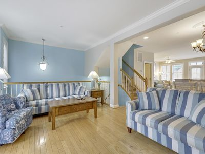 Photo for Spacious Canalfront Townhome with Water Views - Resort Pools & Clubhouse!
