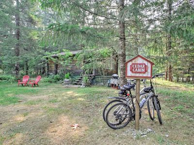 Photo for 'Cedar Cabin' Cozy 1BR Packwood Cabin w/Mtn Views!