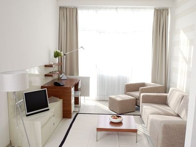 Photo for Serviced 2-room apartment incl. free WLAN, free parking and bi-weekly cleaning