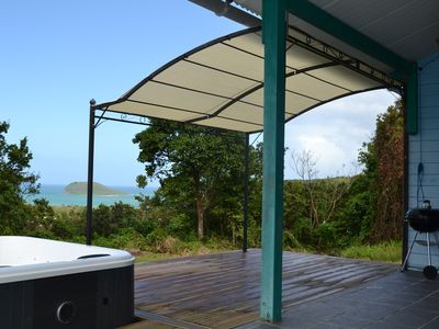 Photo for Creole 3 bedroom sea view and private spa
