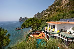 Photo for 7 bedroom Villa, sleeps 8 in Marina del Cantone with Pool, Air Con and WiFi