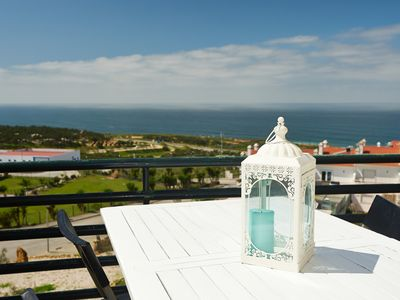 Photo for Holiday apartment in Ericeira, excelent sea view, 500 meters from the beach!