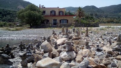 Photo for Beachfront VIlla in Crete- Pericles Beach Villa-Family Friednly-Private pool