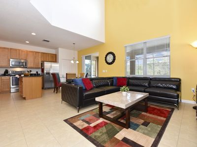 Photo for LOVELY 6-BED 5.5-BATH Pool Home w/Game Room, Gated Resort & Minutes to Disney