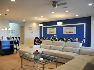 Photo for Disney On Budget - Windsor At Westside Resort - Welcome To Contemporary 8 Beds 6 Baths  Pool Villa - 4 Miles To Disney