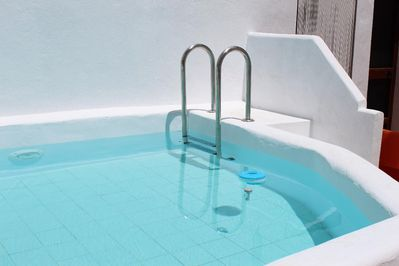 Onsite communal plunge pool open May to October