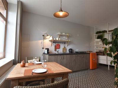 Photo for Completely renovated studio with terrace in the centre of Ieper