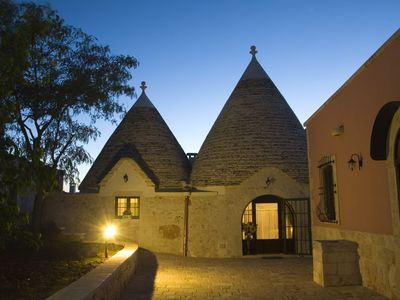 Photo for Holiday in TRULLO. A holiday of quiet 'and RELAX