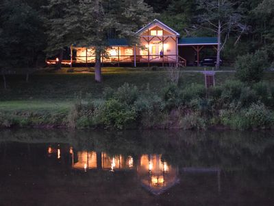 Photo for The Cabin- Riverside Cabin Perfect For Your Family Getaway