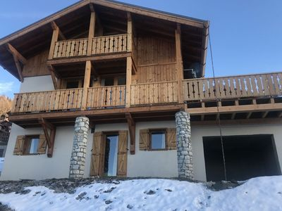 Photo for The chalet are is situated 300m from the village centre of Vallandry.