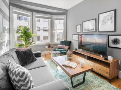 Photo for 1BR in Lower Pacific Heights near Whole Foods w/ W/D by Blueground