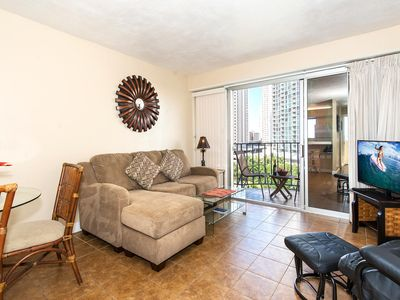 Photo for Beautiful Yet Affordable Royal Aloha Condo Walk to Beach, Dining, Activities