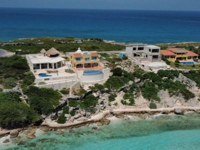 Photo for Isla Mujeres' Finest Oceanfront Home Special Summer Rates!