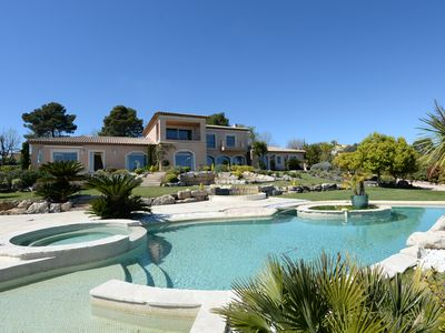 Photo for Location, Mougins, luxurious property, 6 bedrooms, pool !