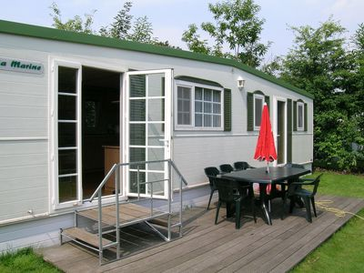 Photo for Simply furnished chalet located on a beautiful, natural holiday park