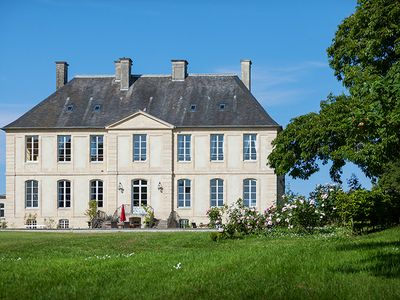Photo for Outstanding B&B Chateau hotel between Bayeux and the Landing Beaches