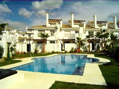Photo for Luxury air-conditioned 3 bedroom town house in Puerto Banus