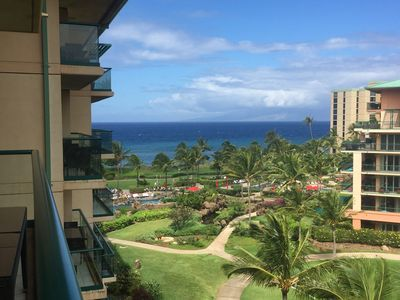 Photo for GAP SPECIALS! Gorgeous, spacious 6th Floor Honua Kai With Ocean & Mountain Views