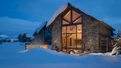 Photo for Mountain-modern lodge at the base of Jackson Hole