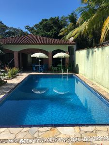 Photo for Beach house with pool, barbecue, 02 suites + 01dorm for up to 12 people