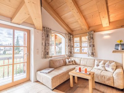 """Photo for Charming Apartment """"Ferienwohnung am Eichenwald"""" with Mountain View, Wi-Fi & Balcony; Parking Available"""