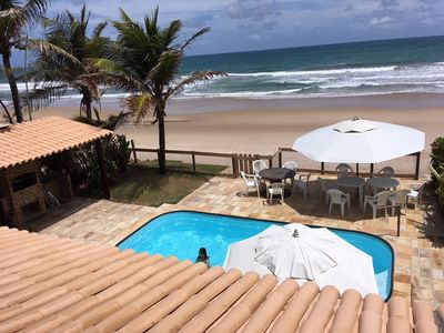 Photo for House beachfront of Porto de Galinhas with 04 suites