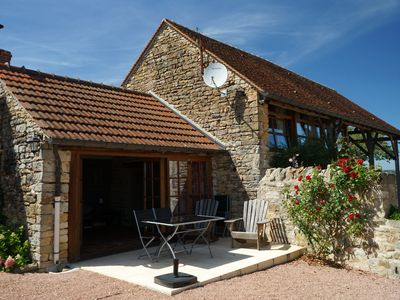 Photo for Beautiful cottage with pool close to Cluny & Taize