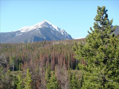Photo for Unobstructed Views .... Book Your Mountain Getaway Now!