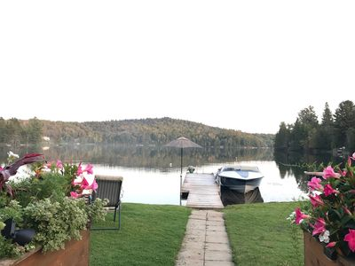 Photo for Cozy up this season at our Blue Sea Lake chalet ***NOW with WIFI****