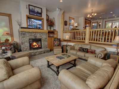 Photo for Mill Creek 72 Walk to slopes, Sleeps 15, King bed, Creekside with great views by SummitCove Lodging