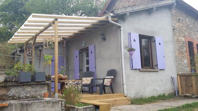 Photo for 2 person studio in the Creuse (dog friendly)